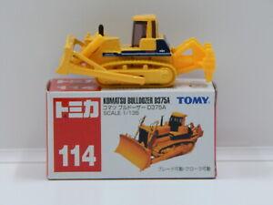 1:135 Komatsu Bulldozer D375A - Made in China Tomica 114