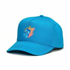 Pink Dolphin Men's Mr. Positive Snapback Hat Blue Baseball Headwear Cap NWT