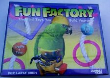 FUN FACTORY. The Bird Toys You Build Yourself! by JUNGLE TALK for PARROTS Etc