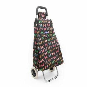 Super Lightweight 2 Wheel Shopping Trolley Durable Pull Waterproof Bag