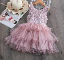 NEW CUTE Kids Girls Princess Tutu Dress