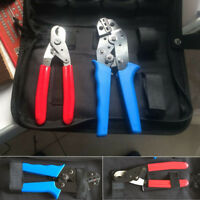 Professional Crimping Tool Set Wire Terminal Cable Cutter Crimp Plier Hand Tools