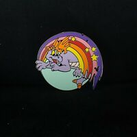 Hidden Mickey WDW Cast Lanyard Pin 41993 Figment Rainbow Collection 4 Pin 2