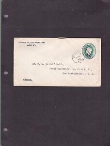 Canada BC British Columbia - ANYOX BC 1930  Duplex Cancel Cover -