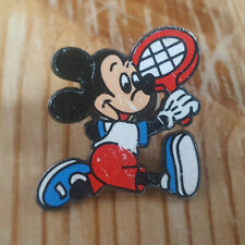 Mickey Mouse - Playing Tennis - Disney - Enamel Pin Badge - Scratched