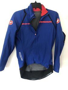 Castelli Women Perfetto Convertible Cycling Jacket Small Euc Detachable Sleeve