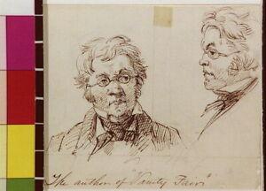 The author of Vanity Fair,Felix Octavius Carr Darley,1840-1888,William Tha 6272