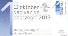 """FDC   E776 - 776: """"DAG VAN DE POSTZEGEL   2018"""""""
