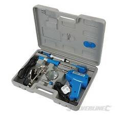 Soldadura Eléctrica Kit Set 30W y 100W De Hierro Pistola Soldadura Base Herramienta Y Estuche