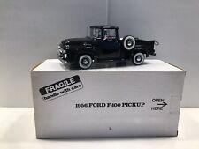 Danbury Mint 1956 Ford F-100 Pickup Model Rare Black MIB