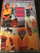 Ladysmith Black Mambazo Two Worlds One Heart (Cassette, 1990, Warner)