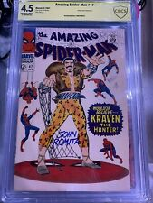 AMAZING SPIDER-MAN #47 Romita Signed CBCS 4.5 Marvel Kraven No Way Home CGC 1 4