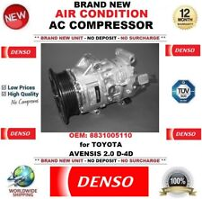 DENSO AIR CONDITIONING AC COMPRESSOR OEM: 8831005110 for TOYOTA AVENSIS 2.0 D-4D