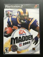 Madden NFL 2003 (Sony PlayStation 2, PS2)