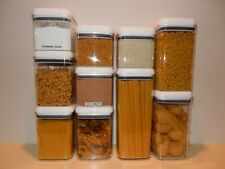 Better Homes & Gardens Flip Tite 10 Canister Set Square Food Storage Containers