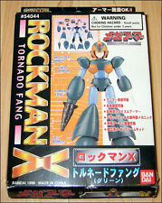 ROCKMAN X MEGAMAN Toy Model FIGURE Tornado Fang by Bandai DISCONTINUED LAST ONE!