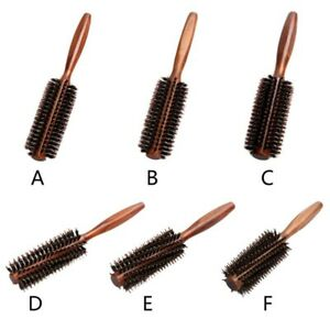 Hair Brush Comb Twill Straight Rolling Round Curling Hairdressing Styling Tool