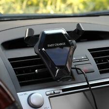 Wireless Charger KFZ AUTO Ladegerät Qi Induktive Ladestation f. iPhone Samsung