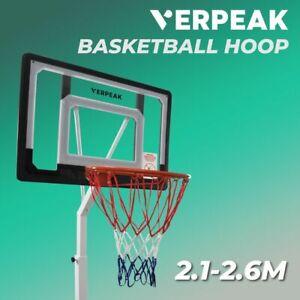 Verpeak Adjustable Height Basketball Hoop Stand Ring (2.1M-2.6M)