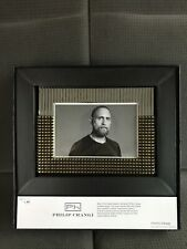 Philip Crangi Picture Frame Silver & Gold - Holds 4x6 Photo NEW