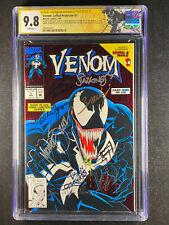 Venom Lethal Protector 1 CGC 9.8 8 signed!!! Sketch Venom Label Bagley Milgrom +