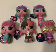 Pop Pop Hair Surprise Series 1 Set Of 5 Doll Brushes BNFS, Brand New! Sealed
