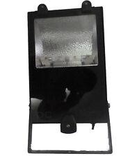 Focos halogenos de exterior,marca Newlec,negro ,150 watios
