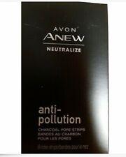 Avon Anew Neutralize Anti Pollution Charcoal Pore Strips NEW Free Shipping