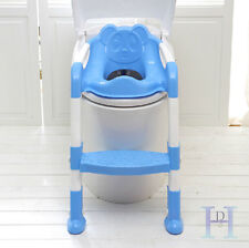 Baby Toddler Potty Toilet Trainer Ladder Training Seat Step Kid Toilet Seat Blue & Unbranded Baby Potty Training Products | eBay islam-shia.org