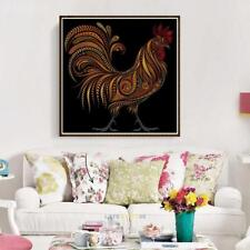 5D Rooster Cock Diamond Painting Embroidery DIY Cross Stitch Home Art Room Decor