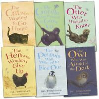 Favourite Animal Stories Collection By Jill Tomlinson 6 Books Set Cat Who Wanted