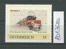 """Österreich PM personalisierte Marke Eisenbahn """"Nostalgie 6 **"""