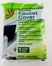 """Duck Flexible Insulated Soft Faucet Cover 7.5"""" Wide X 8.75"""" Long - New NIP"""