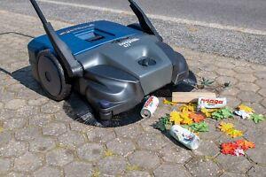 2021 haaga 677 Akku-Kehrmaschine PROFI Line iSweep STRAßENFEGER Markenqualität