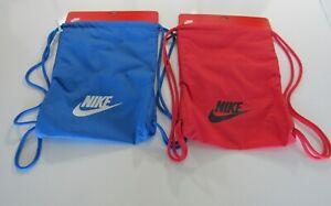 Nike Heritage 2.0 Gym Sacks BA5901 Nwt