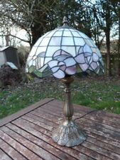 LOVELY VINTAGE TIFFANY STYLE TABLE LAMP