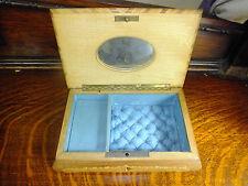 Vintage Lined Swiss Music Box Lador