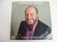 NORMAN BAILEY john constable songs of love and death LP