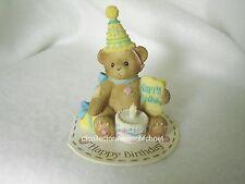 Cherished Teddies Giftable Mini Happy Birthday 2009 New