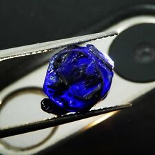 5 to 10 CT One Peace Of Natural Certified Kashmir Blue Sapphire Gemstone Rough