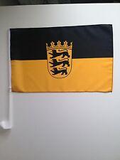 Autofahne Autoflagge Brandenburg 30x45 cm