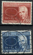 Denmark 1963 SG#455-6 Atomic Theory Used Set #A90267