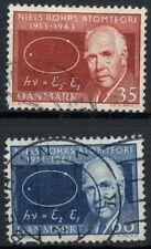 La Danimarca 1963 SG # 455-6 teoria atomica USATO Set #A 90267