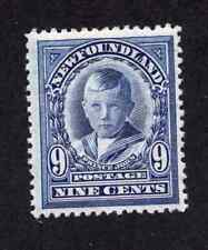 Newfoundland #111 9 Cent Blue Violet Prince John Royal Family Issue MNH