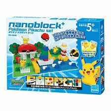NanoBlock Plus Pokemon Pikachu set PP-006 JAPAN