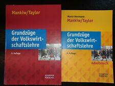 Grundzüge der Volkswirtschaftslehre von Mankiw/ Taylor + Übungsbuch