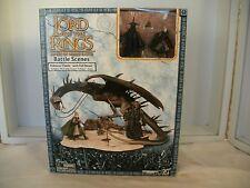 Lord of the Rings AOME Pelennor Fields w/ Fell Beast Battle Scene MISB