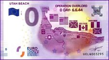 UE LQ-2 / UTAH BEACH / BILLET SOUVENIR 0 € / 0 € BANKNOTE 2017-2