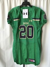 NCAA Notre Dame Authentic Under Armour Mens Large Game Day Football Jersey