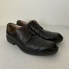 FLORSHEIM Shoes Men's Size 11 D Leather Dark Brown Dress Oxfords.